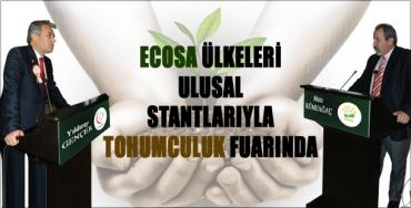 ECOSA ülkeleri, ulusal stantlarıyla Tohum Fuarı'nda!